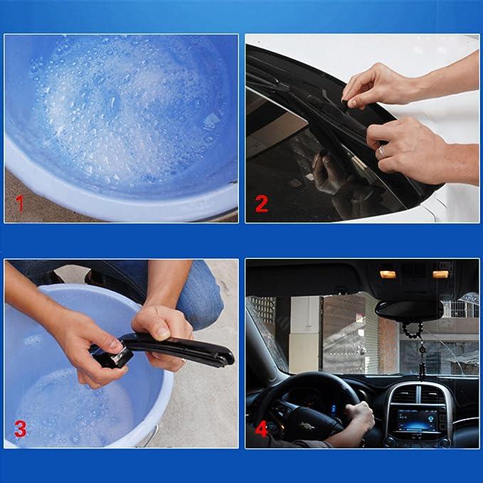 Limpiaparabrisas reparador | Limpiaparabrisas herramienta de reparación | Para el limpiador del parabrisas del coche, aplicable para todos los modelos: ...