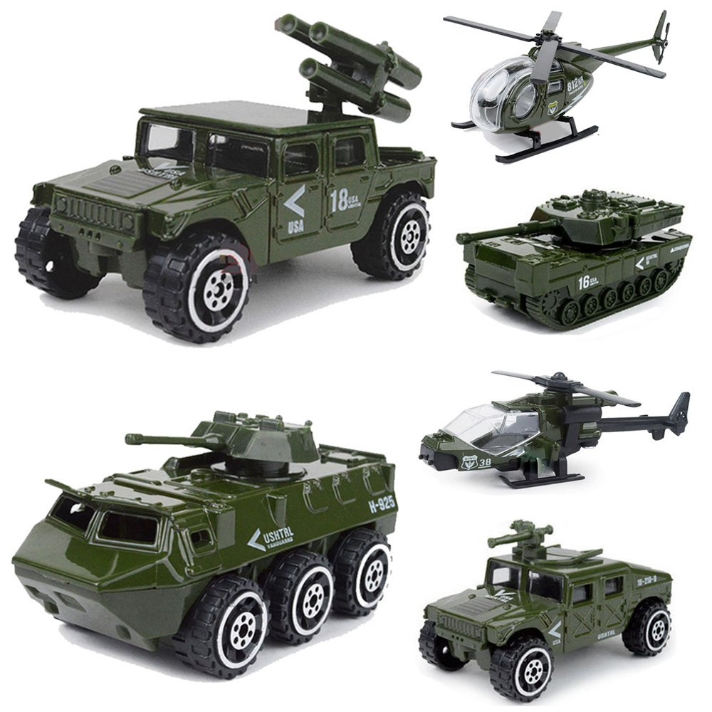 Military Vehicle Toys For Boys : Off diecast army vehicle playset kids model car