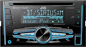 JVC KW-R920BTS Built-in Bluetooth/Satellite Radio-Ready in-Dash Receiver with Remote