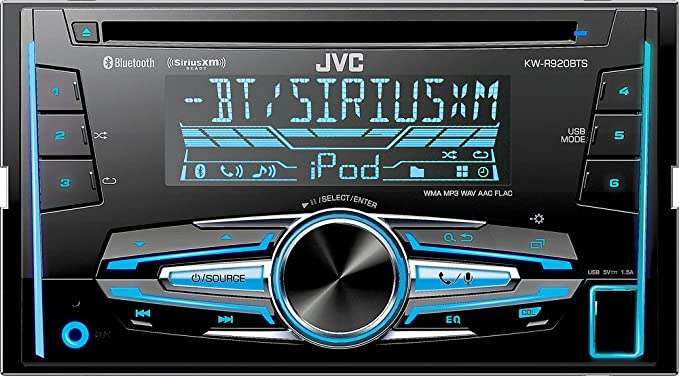 Built-in Bluetooth In-Dash CD Receiver Satellite Radio-Ready with D... JVC