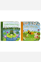 Pack Chunky Lift-a-Flap Board Books: Little Yellow Bee/Little Green Frog Lift-a-Flap Books (Babies Love) Board book