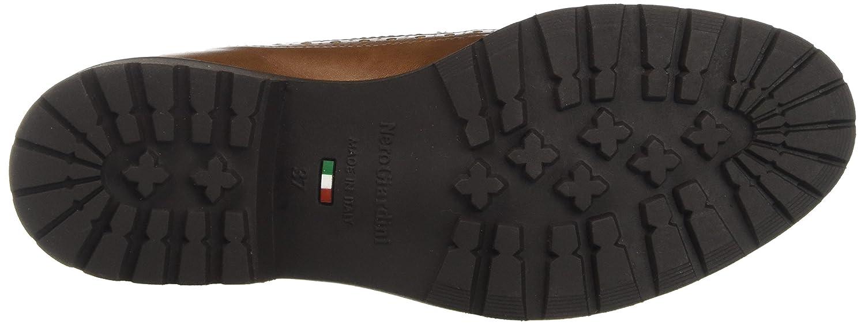 Nero Nero Nero Giardini A719281d, Scarpa Stringata Donna  Marrone (Manolete Cuoio) 96582b