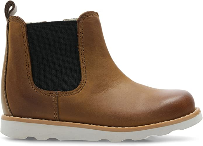 Clarks 3714-46F Crown Halo Tan Leather