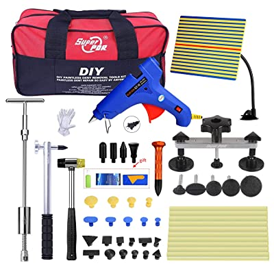 Fly5D dent pullers PDR Tools dent Removal Tools Pops a Dent Bridge Dent Puller Kit for Car Body Dent Repair: Automotive