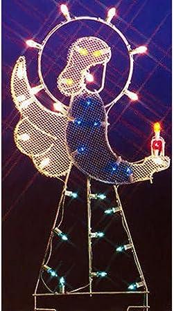 Vickerman 39 Bethlehem Star Nativity Silhouette Lighted Wire Frame Christmas Yard Art