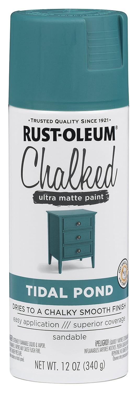 Rust-Oleum 302597 12 oz Tidal Pond Chalked Paint Spray