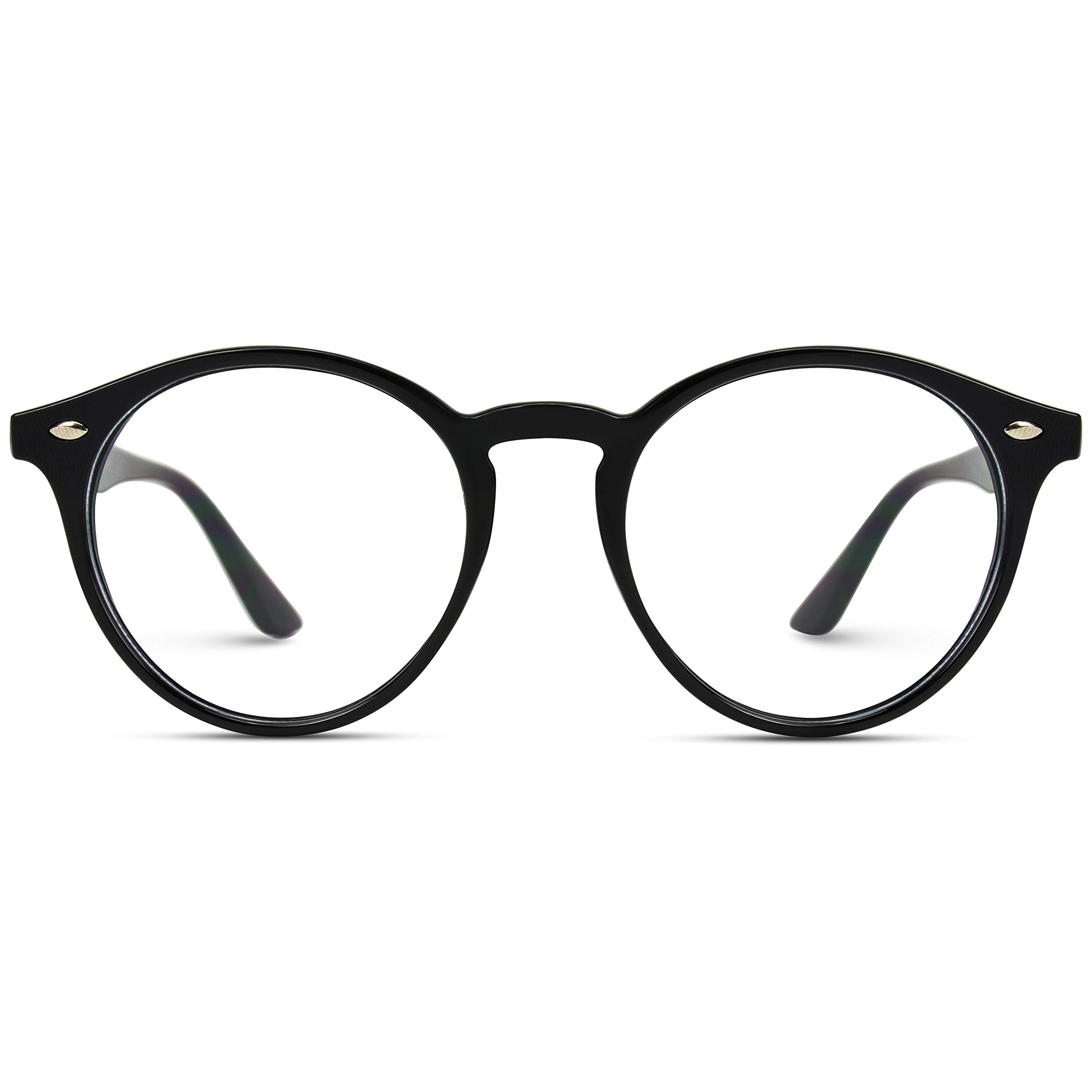 WearMe Pro - Prescription Round Clear Lens Plastic Fashion Glasses by WearMe Pro