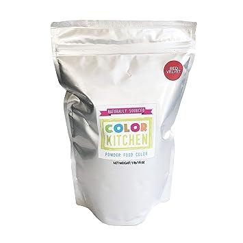 Amazon.com : ColorKitchen Red Velvet Food Coloring Powder (1lb Bulk ...