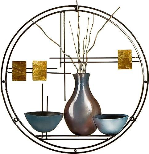 SEI Furniture Vase and Bowl Hanging Wall Art