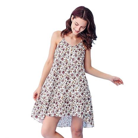 b5b25f127d Vestiti domestici del pannello esterno di sonno floreale dolce della  ragazza del pigiami del cotone del
