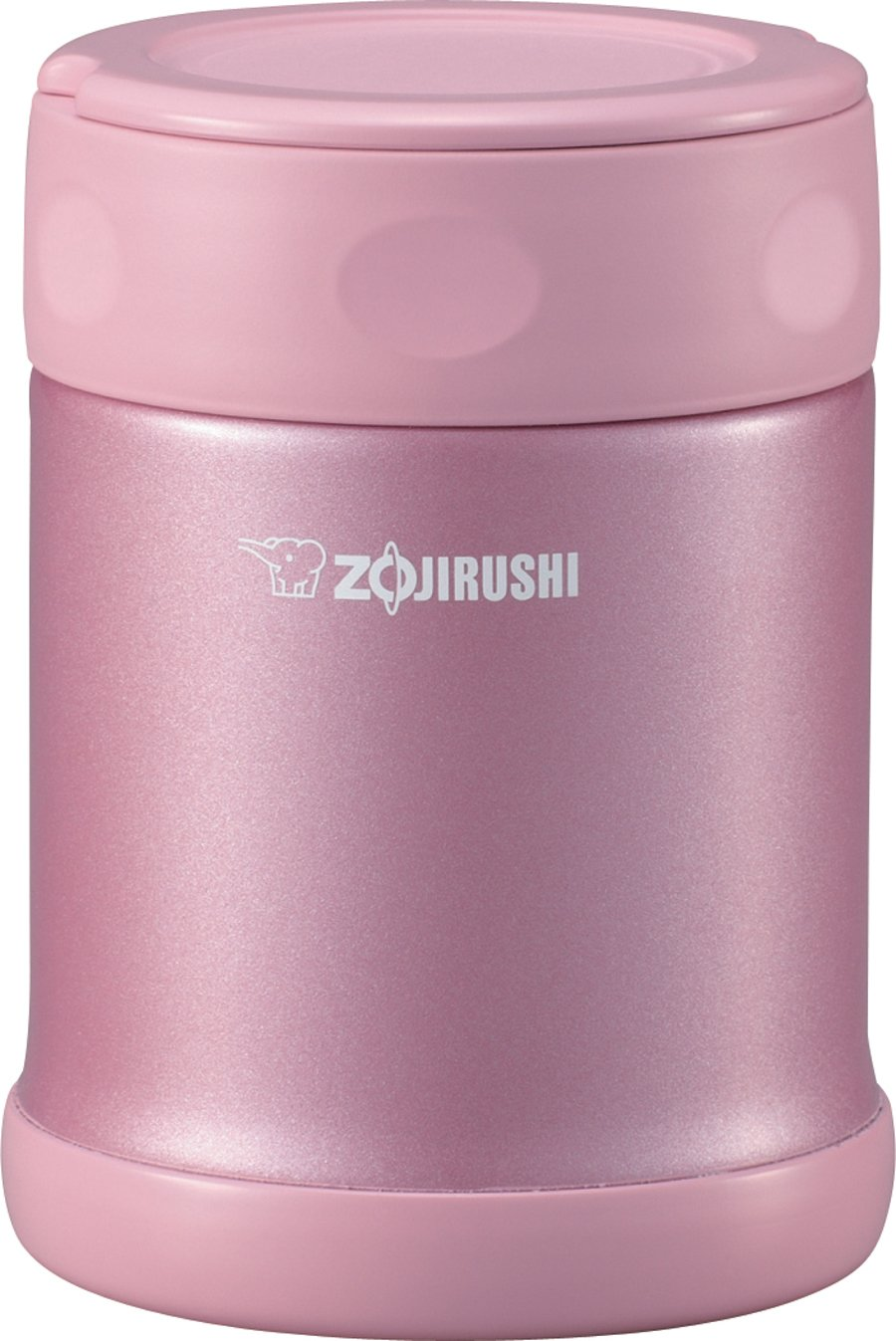 Zojirushi SW-EAE35PS Stainless Steel Food Jar, 11.8-Ounce/0.35-Liter, Shiny Pink