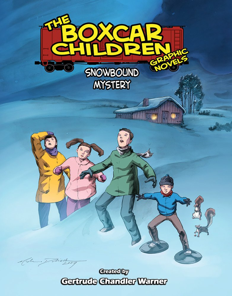 Download Snowbound Mystery (The Boxcar Children Graphic Novels) PDF