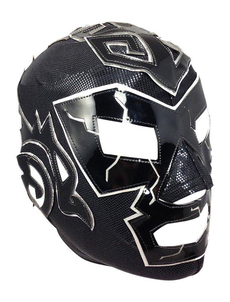 DR. WAGNER Lycra PRO Adult Lucha Libre Wrestling Mask (pro-LYCRA) Black