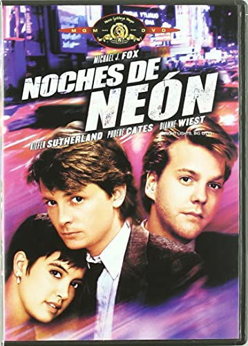 Noches De Neon [DVD]: Amazon.es: Michael J. Fox, Kiefer Sutherland, Phoebe Cates, James Bridges, Michael J. Fox, Kiefer Sutherland, Jack Larson: Cine y Series TV