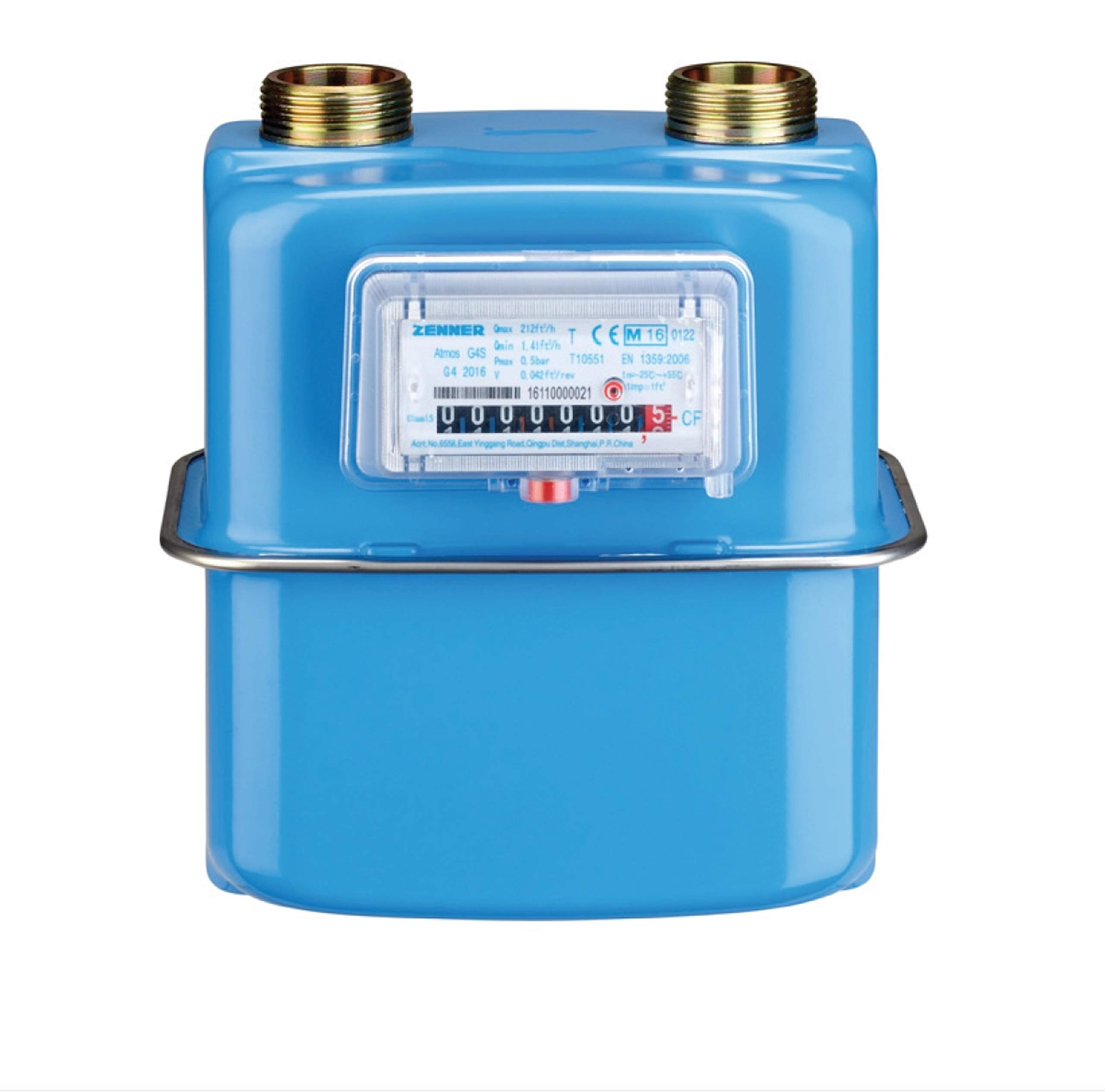 Gas Meter G4 Propane Natural Gas SUBMETER 436,000 BTU LPG Compact gasmeter 236,000 BTU NAT Gas by GASFLEX