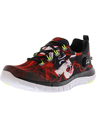 Reebok Zpump Fusion 2.5 Lightweight Running Shoe Blackred