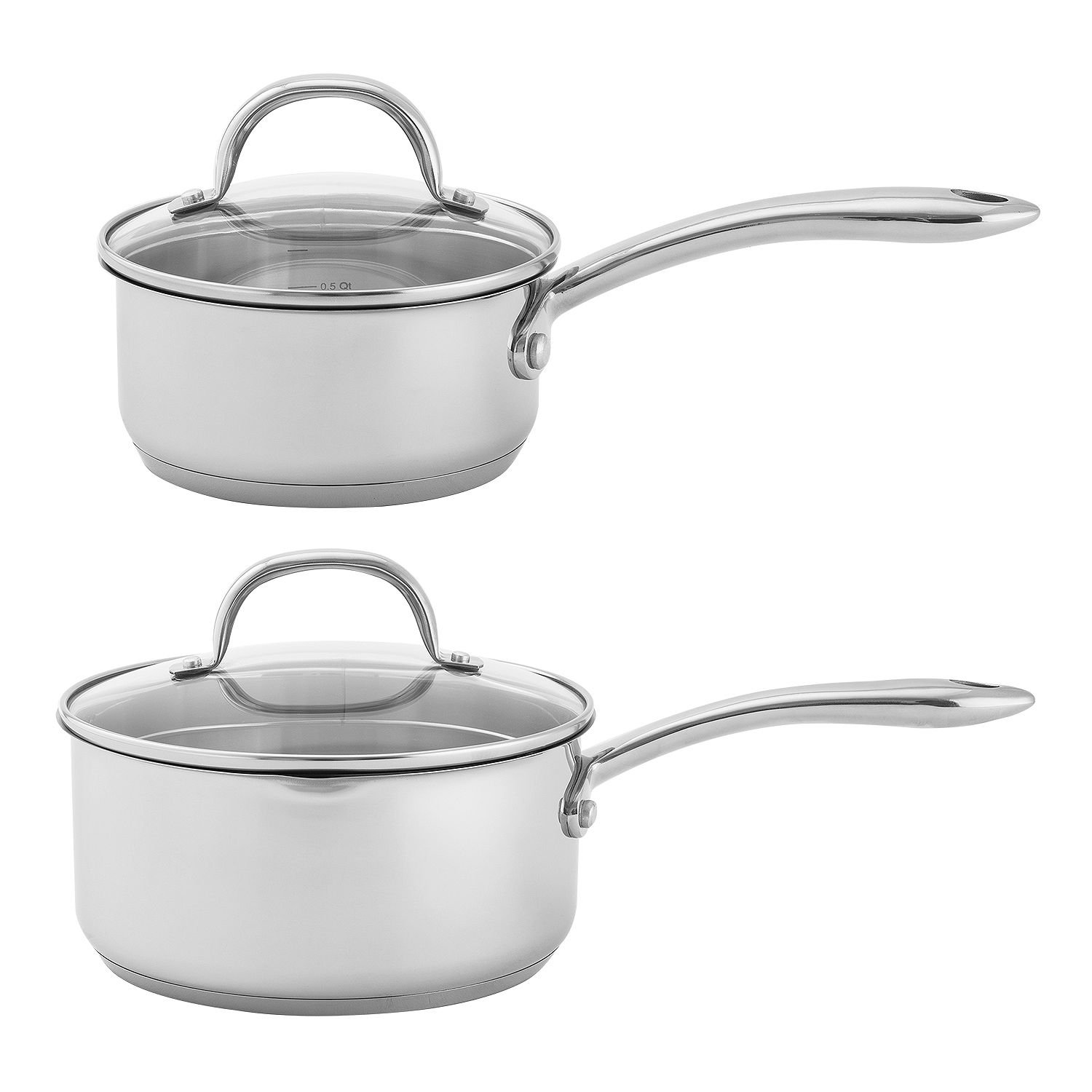 Amazon.com: Wolfgang Puck Stainless Steel 18 PC cookware Set ...