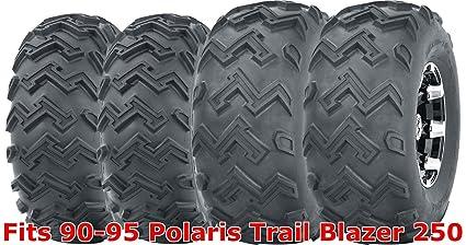 Automotive Set 2 WANDA ATV Front Tire Set 23x7-10 for 96-09 Polaris Trail Boss 250 325 330 Parts & Accessories