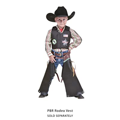 Big Country Toys Rodeo Chaps - Kid's Chaps - Faux Leather - Rodeo Chaps: Clothing