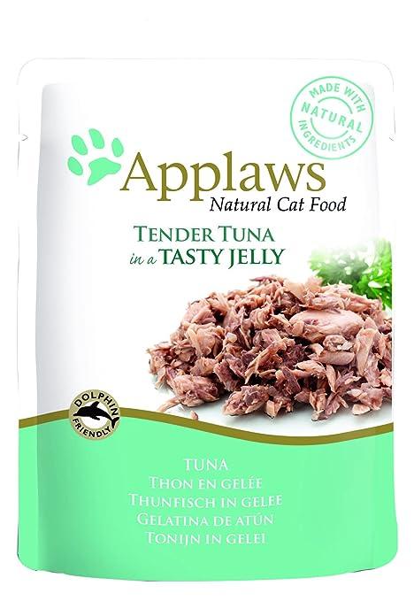 Applaws Cat Tuna Wholemeat en Bolsa de gelatina