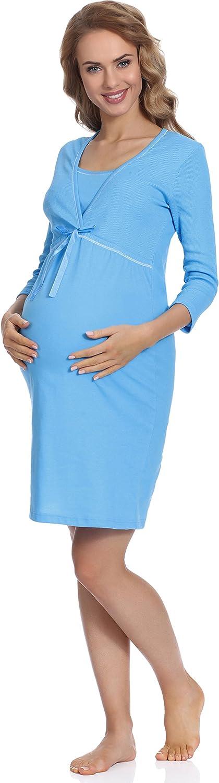 Italian Fashion IF Camicia da Notte Premaman D4L4R2S 01111