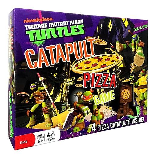 Teenage Mutant Ninja Turtles - Catapult Pizza Game: Amazon ...