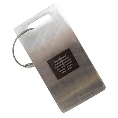 Xray Stainless Steel Luggage Tag, Luggage Tag