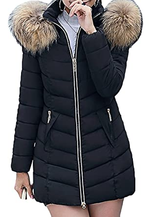 timeless design bbfd6 751a1 Scothen Damen Herbst Winter Jacke Damen Warmer Wintermantel ...