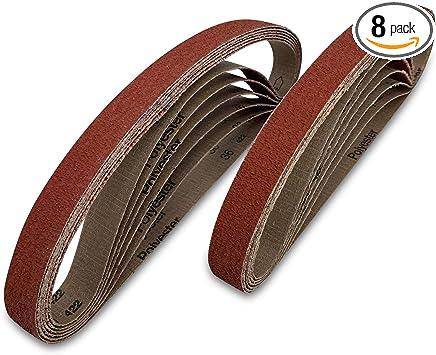 Red Label Abrasives 1 1 2 X 60 Inch 36 Grit Metal Grinding Ceramic Sanding Belts Extra Long Life 6 Pack Amazon Com