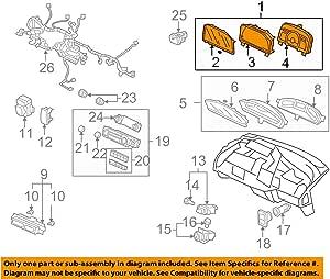 Honda Genuine 78200-SVA-A14 Combination Meter Assembly