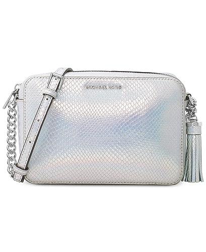 1dd93a14473e Michael Kors Ginny Medium Camera Crossbody Rainbow Leather Purse:  Amazon.co.uk: Shoes & Bags