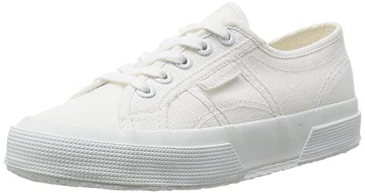 Womens Superga 2750 Cotu Classic Summer Low Top Canvas White Sneakers - Total  White - 8