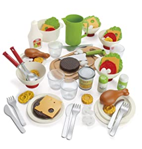 """American Educational Products DT-7020 My Green Garden Make and Serve Set Activity Set, 3.512"""" Height, 8.976"""" Wide, 14.82"""" Length"""