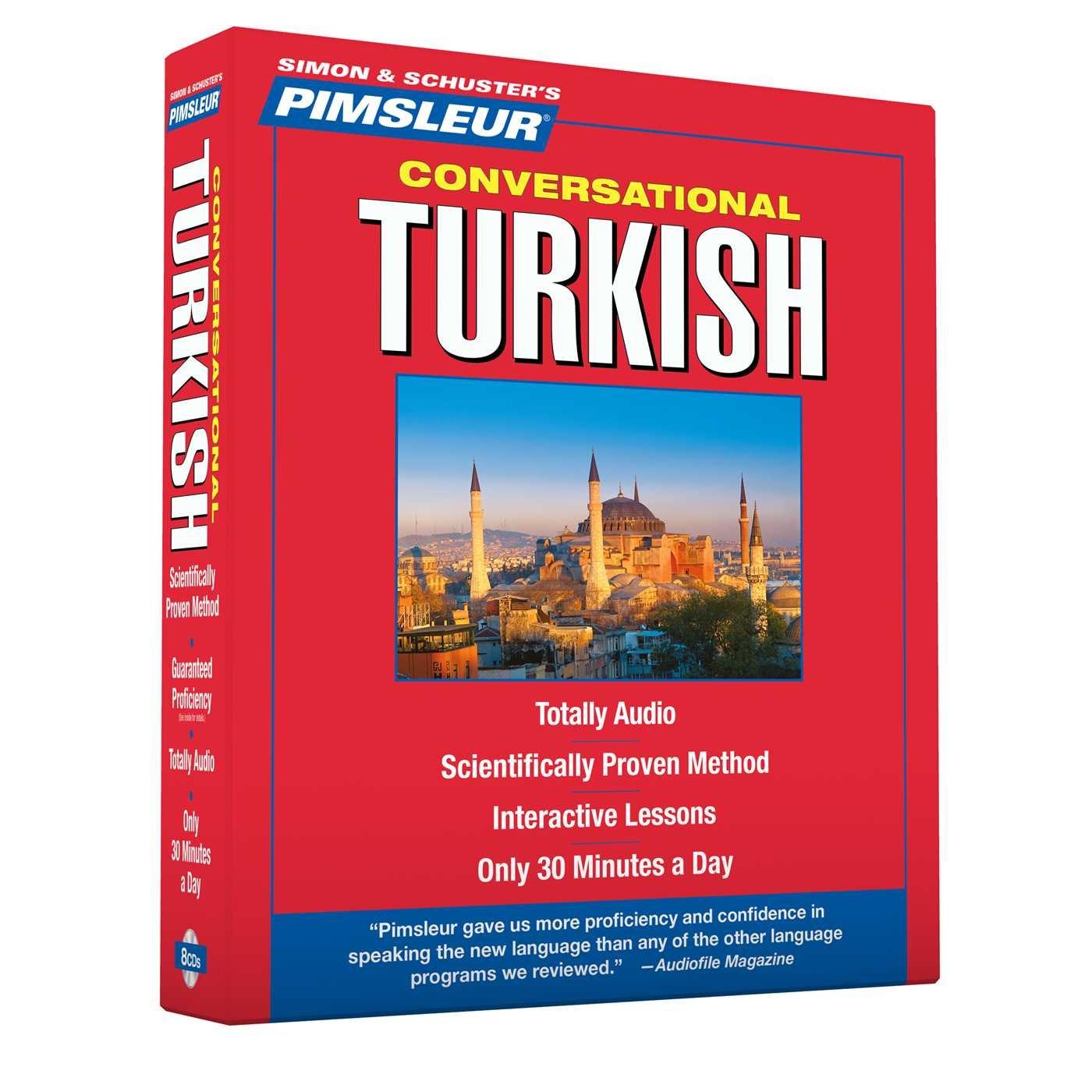 New 8 CD Pimsleur Learn to Speak Turkish Language Language 16 Lessons