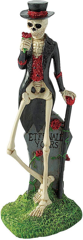 Fun Express Gothic Halloween Tabletop Skeleton - Home Decor - 1 Piece