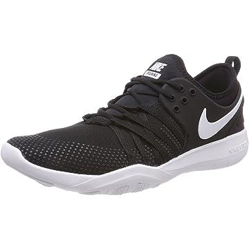 top best Nike Free TR 7 Black/White Women's Cross Training Shoe