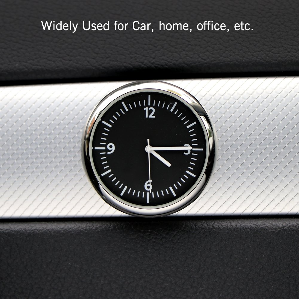 SOOTOP Car Dashboard Clock Quartz Car Clock Stick on