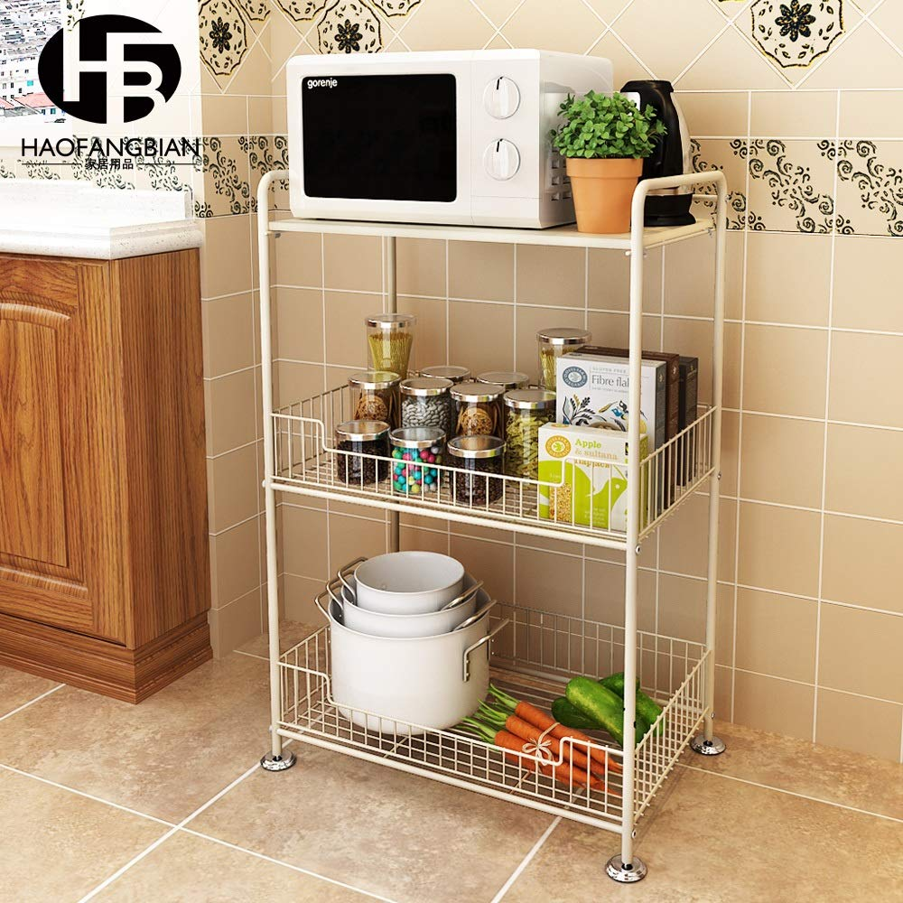 Amazon.com - Kitchen shelf HUO Estante De Cocina Estante De ...