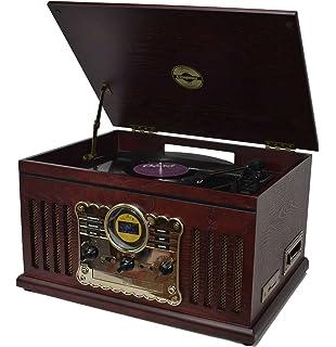 Steepletone Chichester 2 Nostalgic Retro Wooden Music Amazoncouk