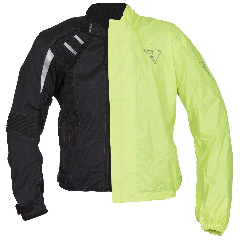 Amarillo Fluorescente 3XL Racer Cool 2 Chaqueta Textil