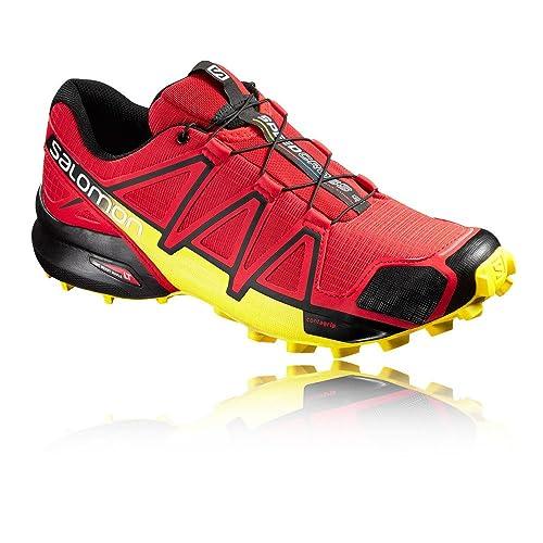 Salomon Zapatillas Speedcross 4 de Trail Running para Hombre, Sintético/Textil: Amazon.es: Zapatos y complementos