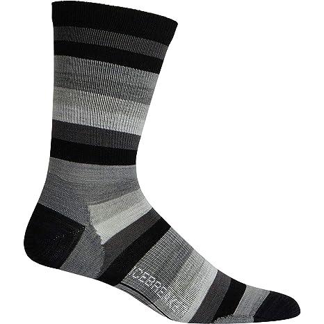 kommt an neueste mehrere farben Icebreaker Herren Lifestyle Ultralight Crew Stripe Socken ...