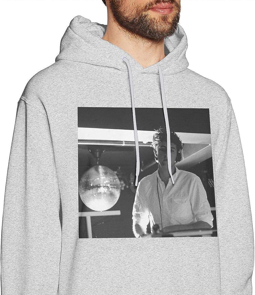 QINQIN The Xx-Idontknow Fashion Mens Hat and Pocketless Sweater Black