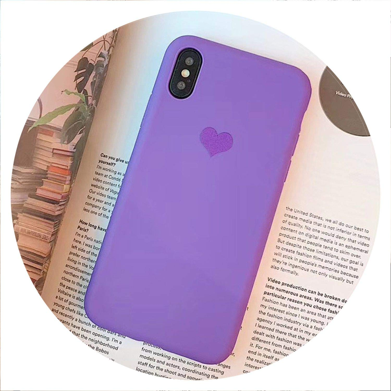 Amazon.com: No Buy No Bye Love Heart - Carcasa para iPhone X ...