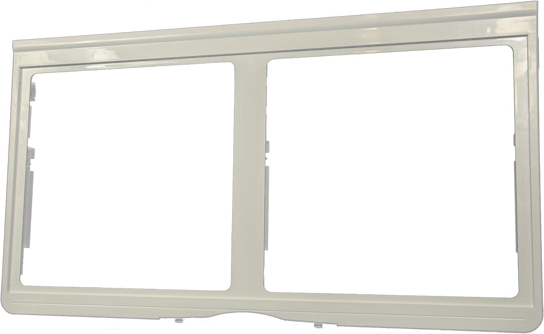 LG Electronics 3550JJ1033A Refrigerator Crisper Cover/Shelf Frame, White