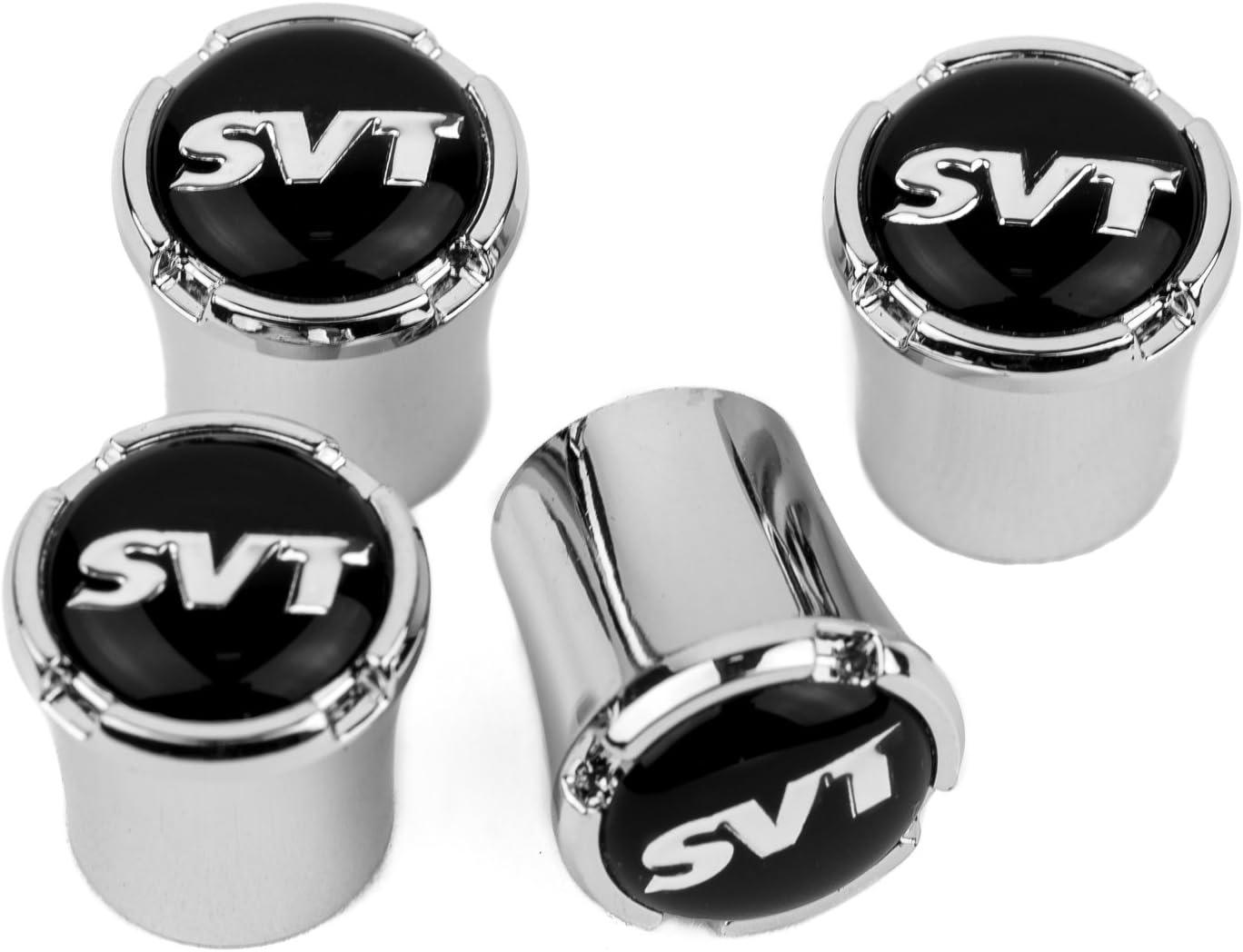 Cadillac Rims Logo Valves Stems Caps Chromed Wheels Air Car Tires Set of 4 USA