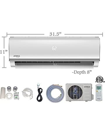 Innova 12,000 BTU Ductless Mini-Split Air Conditioner – Inverter SEER 16 – Cooling &
