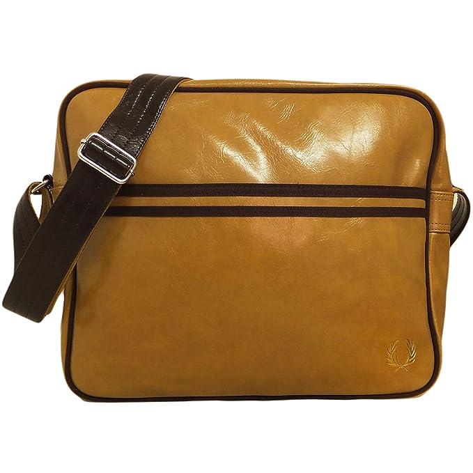 Fred Perry Para hombre bolsa de hombro Messenger bolsa recd ...