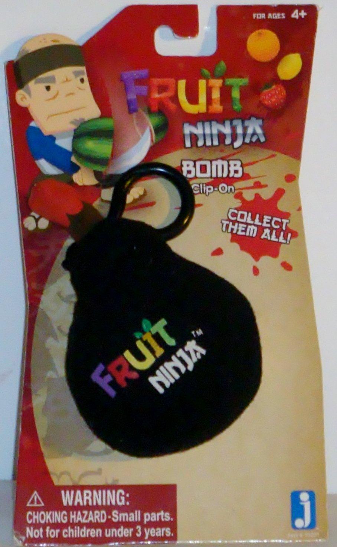 Jazwares Fruit Ninja Bomb Plush Clip On