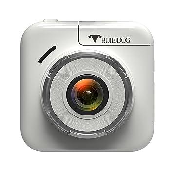 BUIEJDOG Dashcam Cámara de Coche Full HD 1080p Cámara para Coche Videocámara DVR G-Sensor